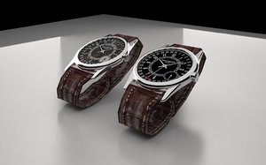3d model of watch