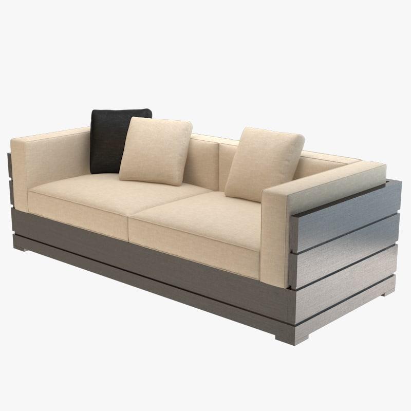 nino rigone sofa 3d model