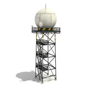 3d radar tower