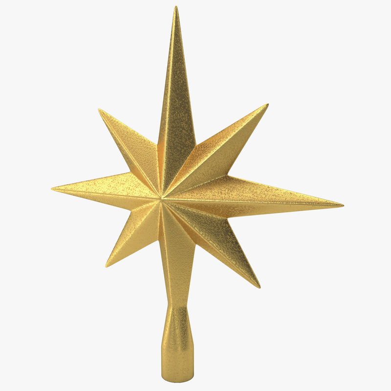 star tree topper 3d 3ds