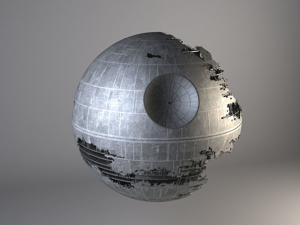 3d star wars death