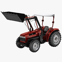Tractor Loader Jinma 454 Red