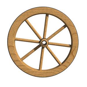 antique wagon wheel max