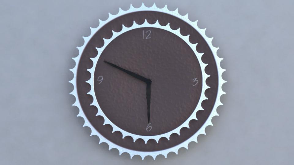 3d x chain clock