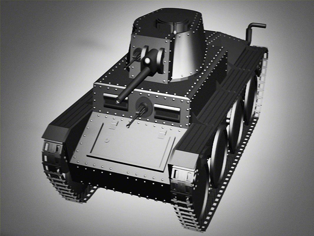 3ds max tank ww2