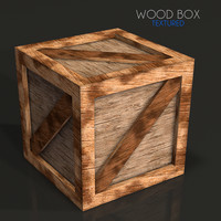 crate wooden box 3d 3ds