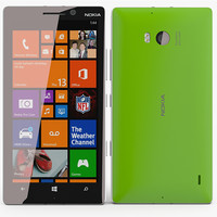 nokia lumia 930 3d model