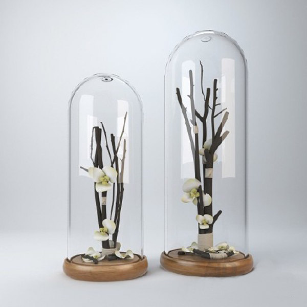 branches glass 3d model