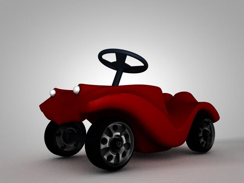 3ds max bobby car wheels