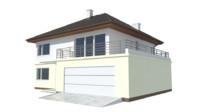zx10 house 3d model