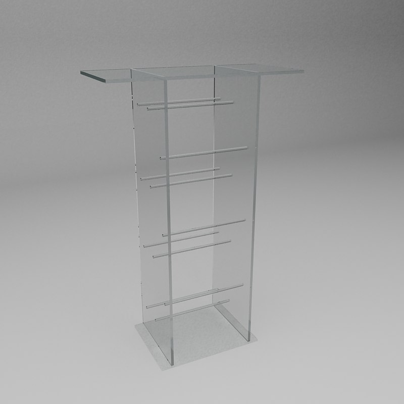 tv stand 3d max