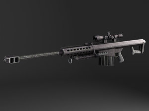 3d rifle a1 barrett model