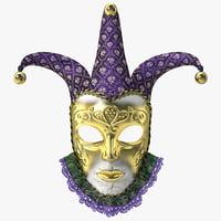 carnival mask 3d model