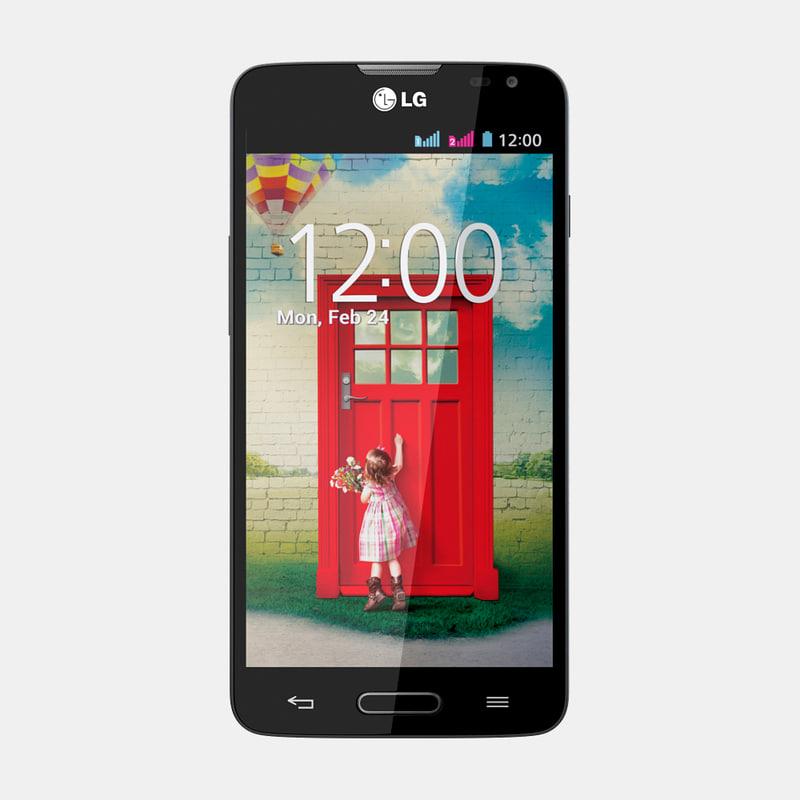 3d lg l90 mobile phone model