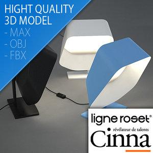 3d table lamp olive design model
