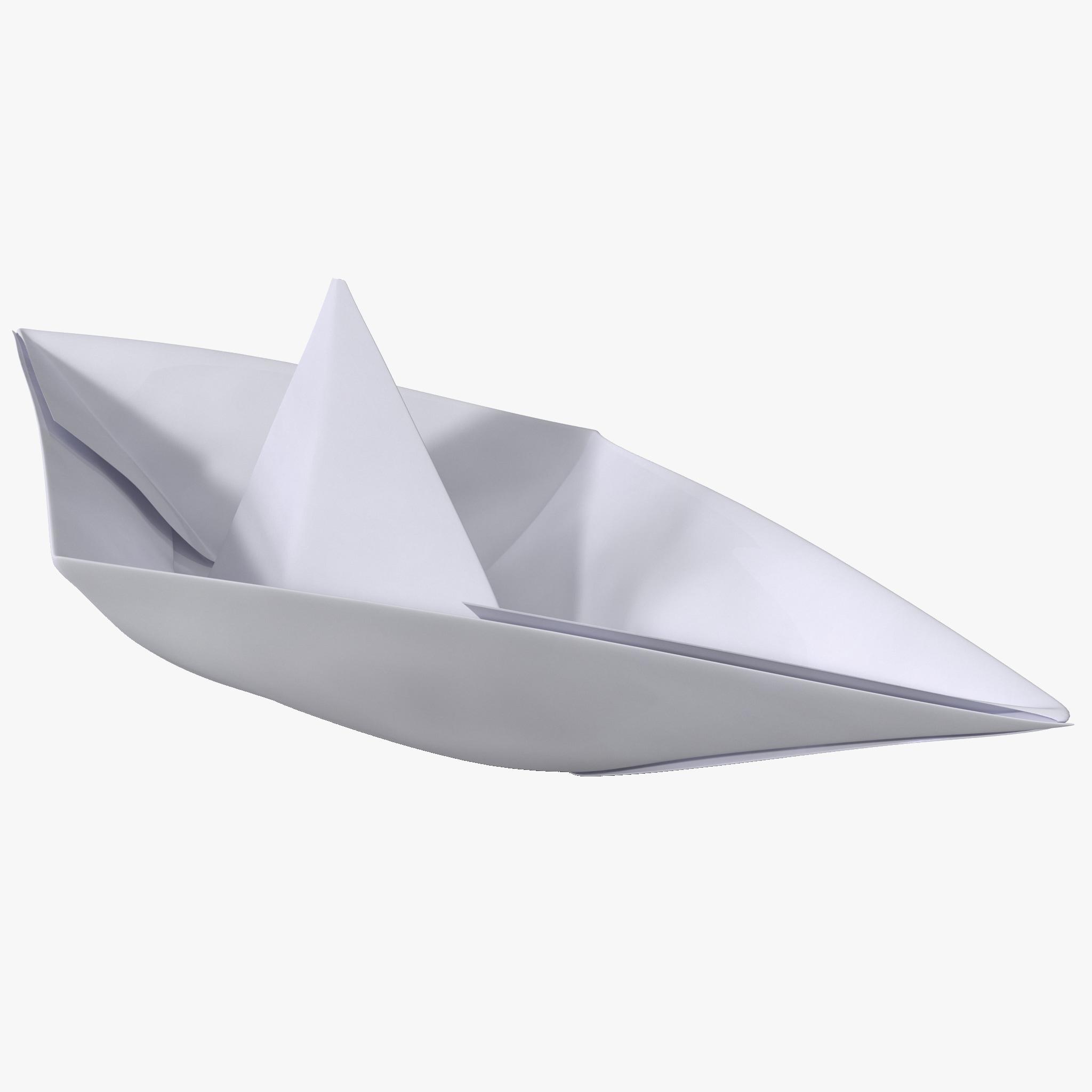 3d model origami ship