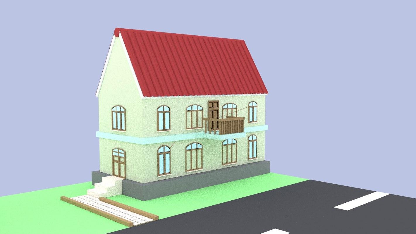 free blend model euro house