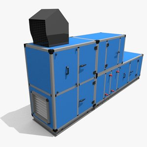 3d ahu air handling unit