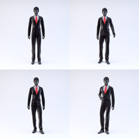 showroom mannequin male 05 3d model