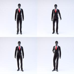 showroom mannequin male 05 3d model