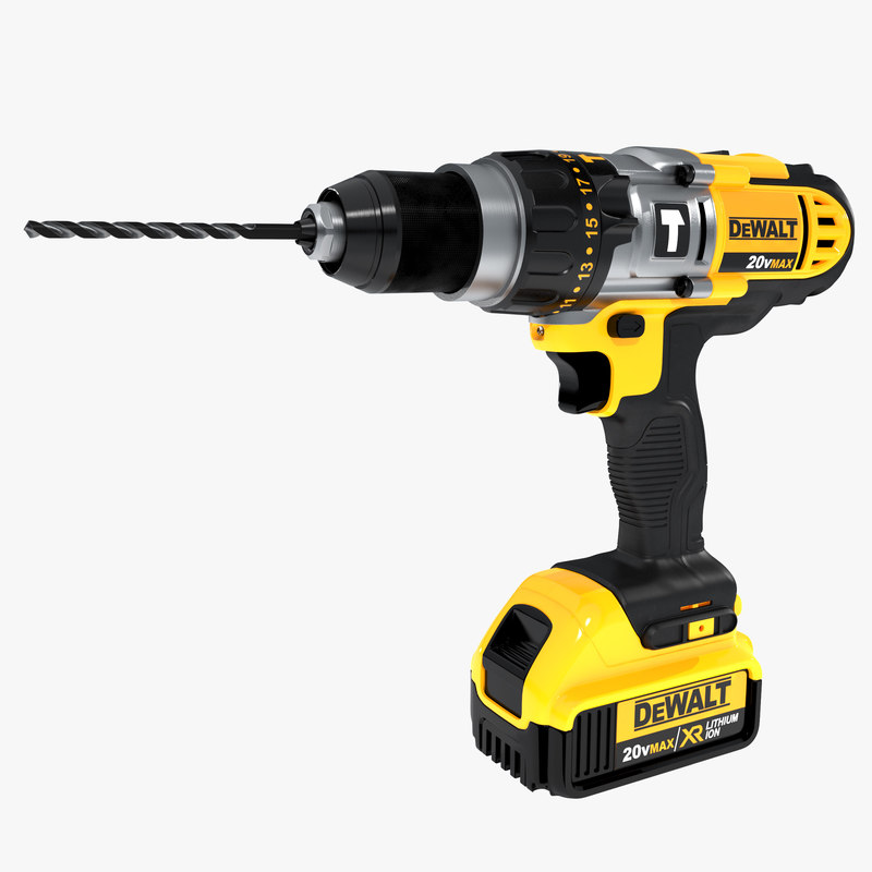 3dsmax dewalt cordless drill