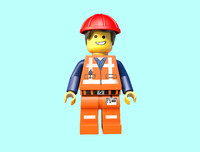 emmet lego movie c4d
