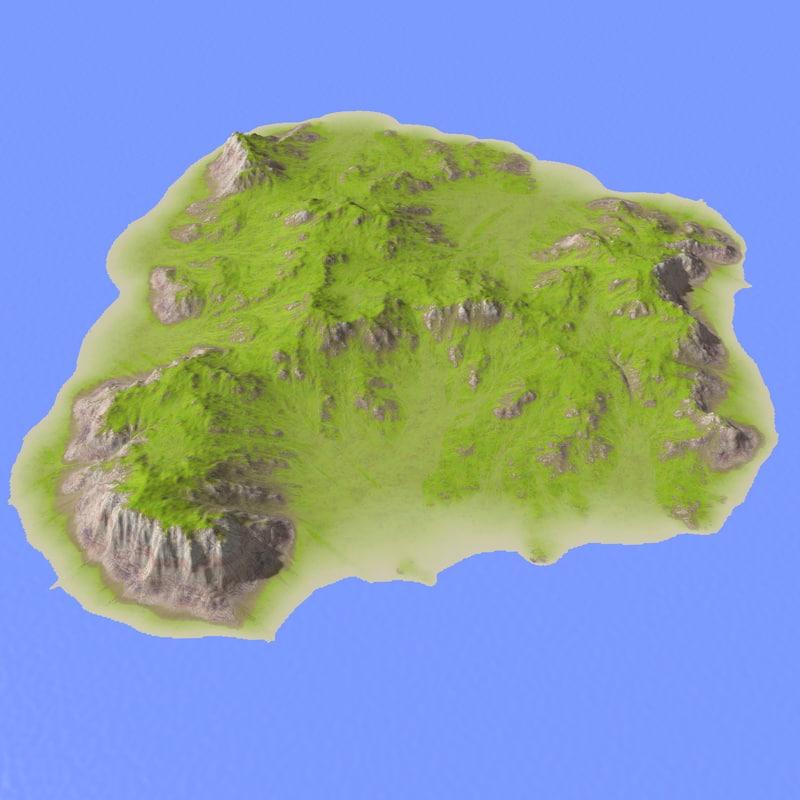 landscape terrain 3d max
