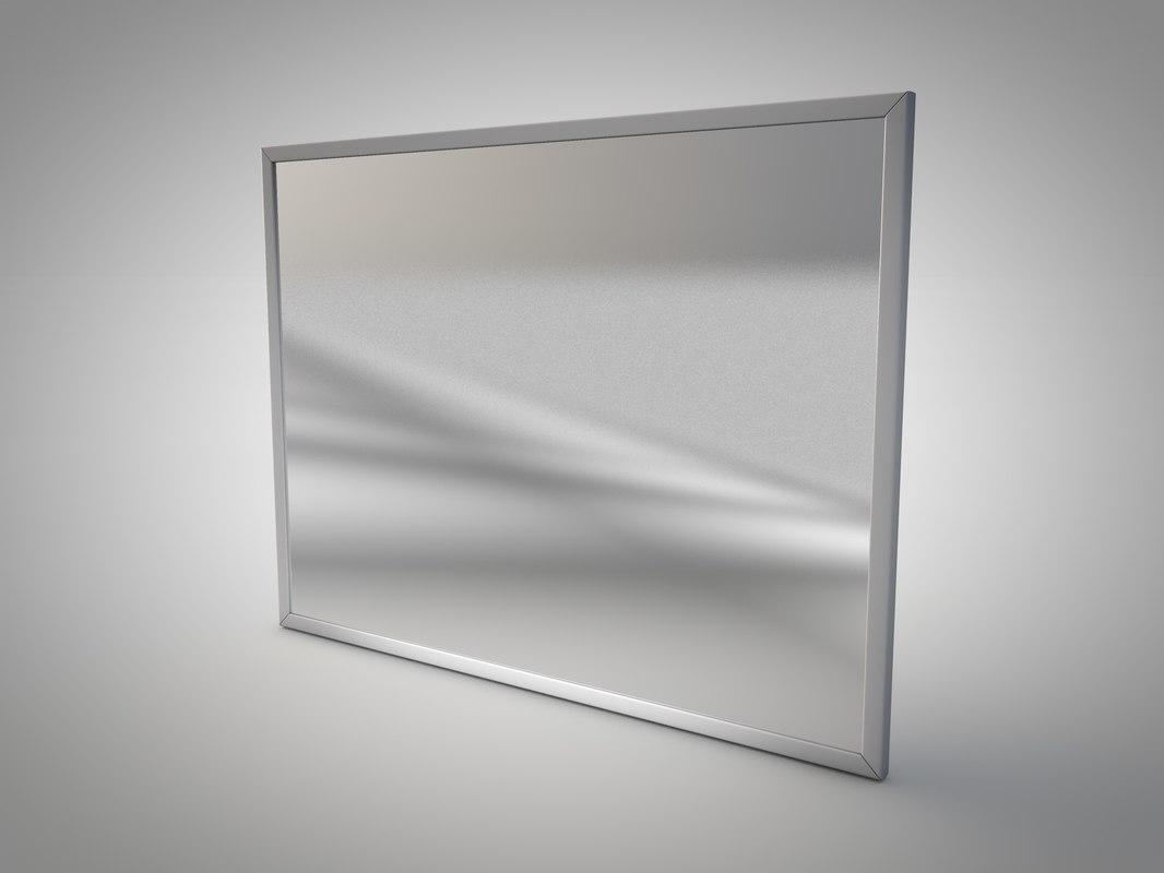 3d 3ds bathroom mirror