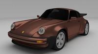 1975 porsche 911 3d model