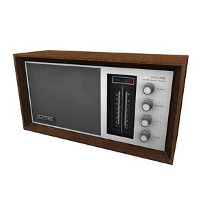 old radio obj