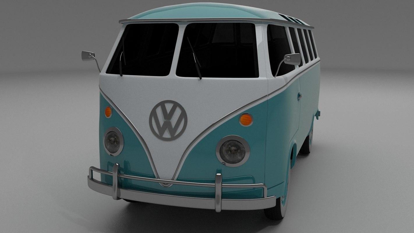 3d model bus mk 1