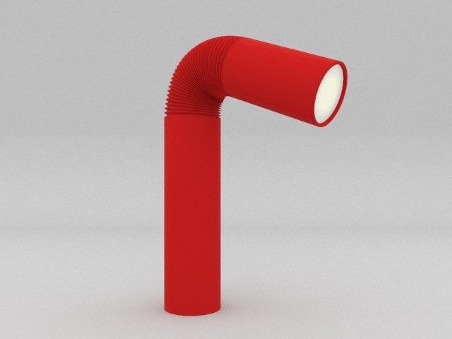 3d sixties lamp model