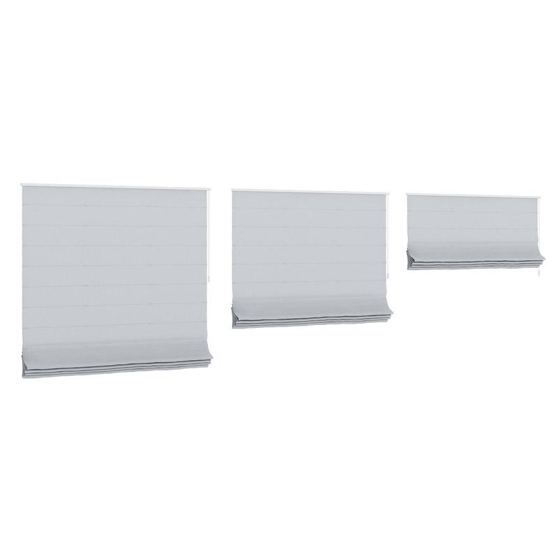 grey roman window blinds max
