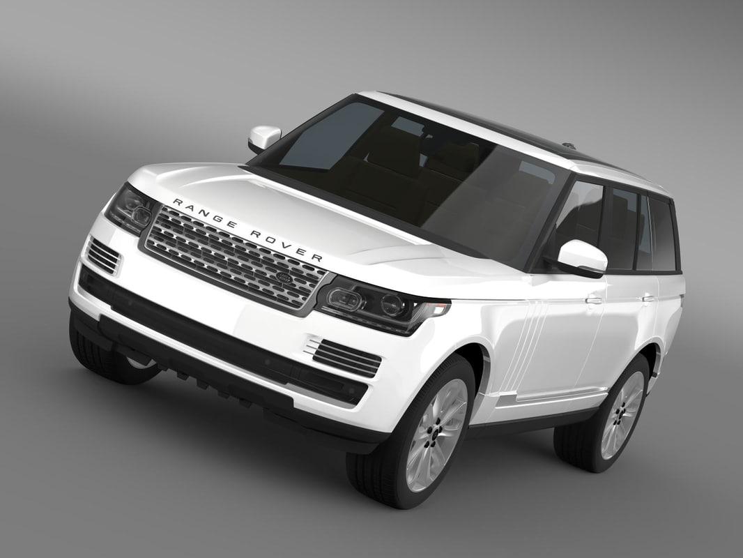 range rover vogue se 3ds