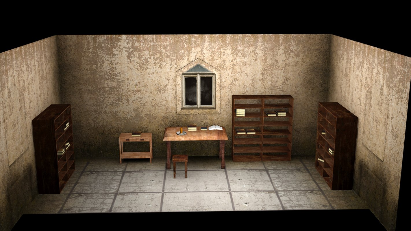 old room scene max