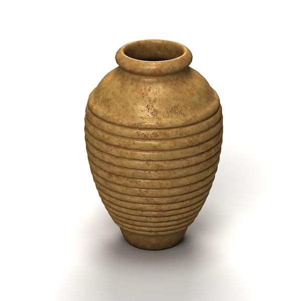 garden vase 3d model