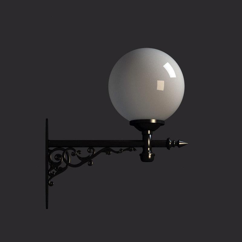 wall lantern 3ds