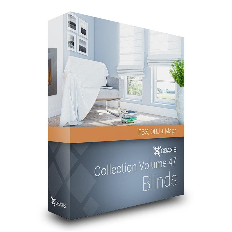 volume 47 windows blinds 3d model