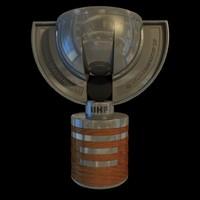 3d iihf trophy model