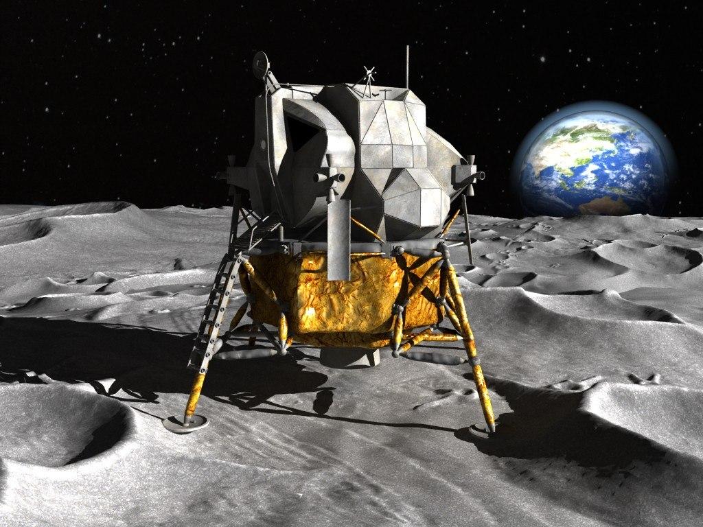 3d nasa apollo lunar model