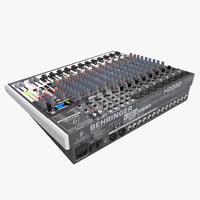 3ds max behringer studio mixer