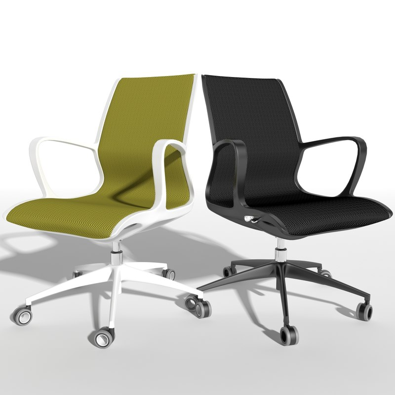 chair office ld seating 3d x