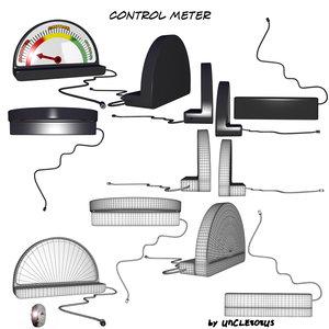 maya control meter