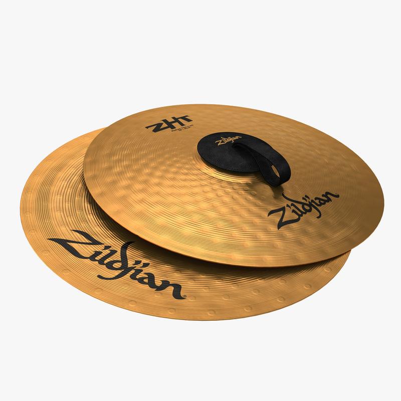 3d cymbals hand