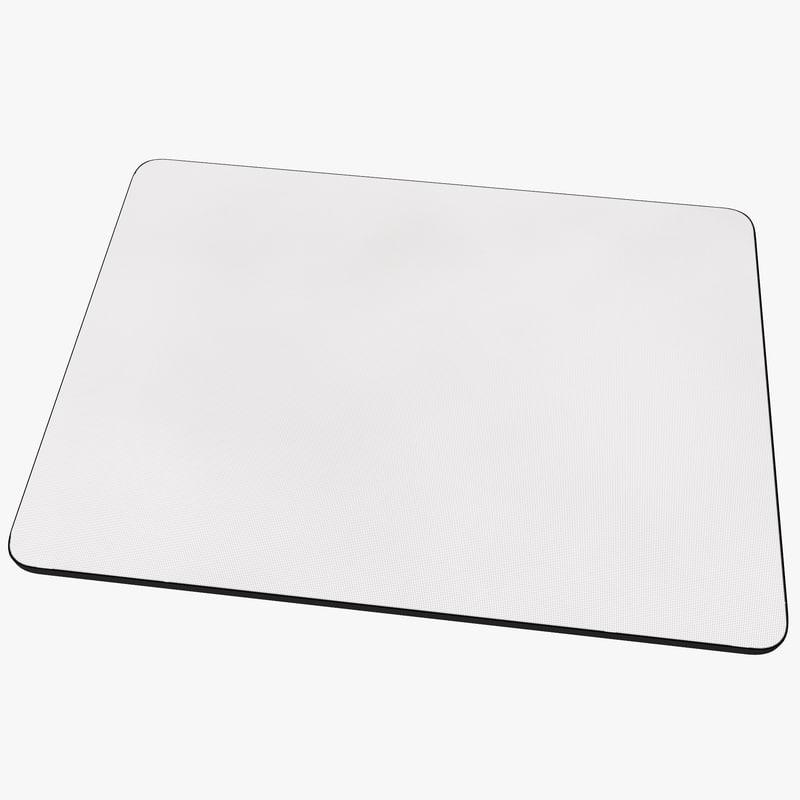 3d model mouse pad