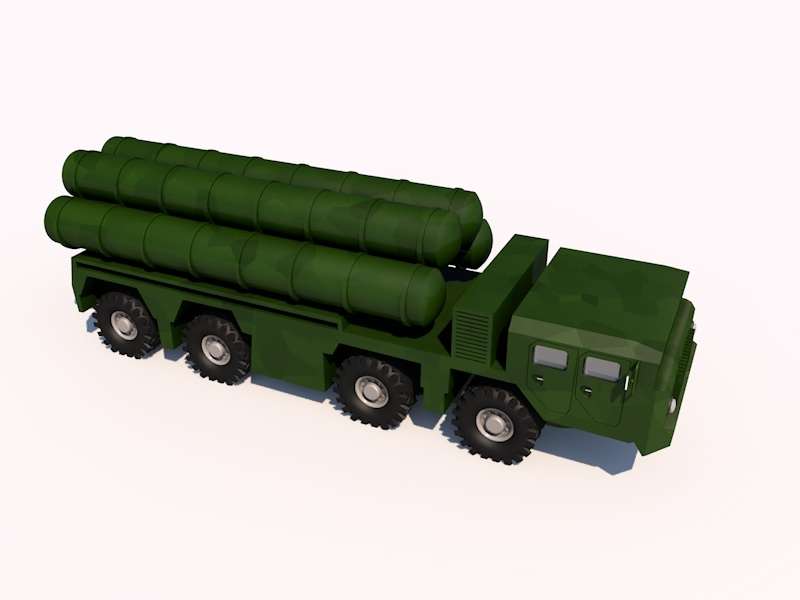 s-300 sa-10 grumble 3d c4d