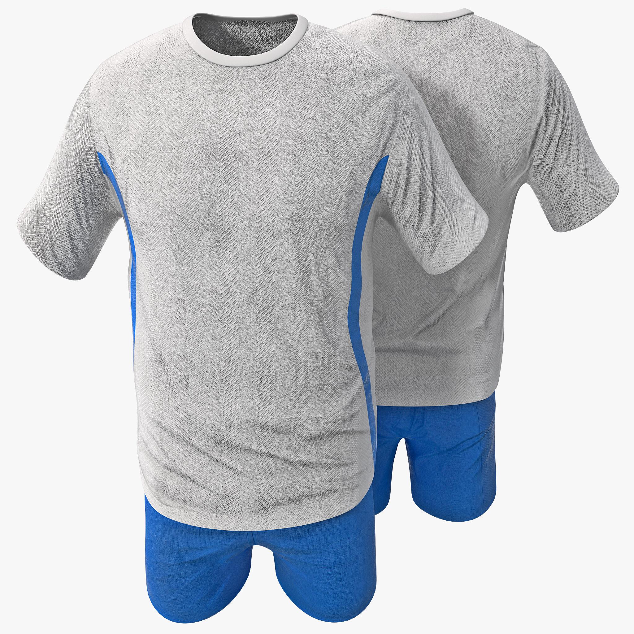 sport clothes 3d model