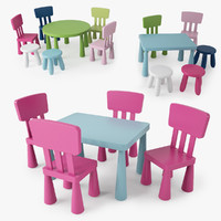3ds max ikea mammut series children s
