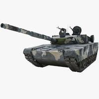 Zulfiqar Iranian Main Battle Tank 2 Rigged