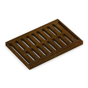 3d model sewage grid